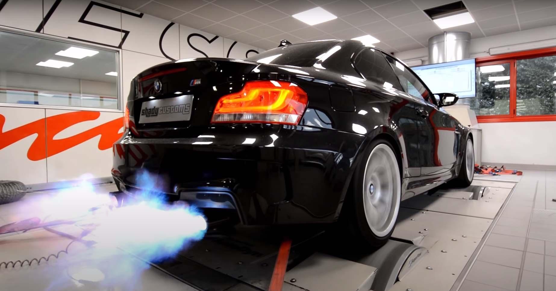 BMW M 2 Step Antilag