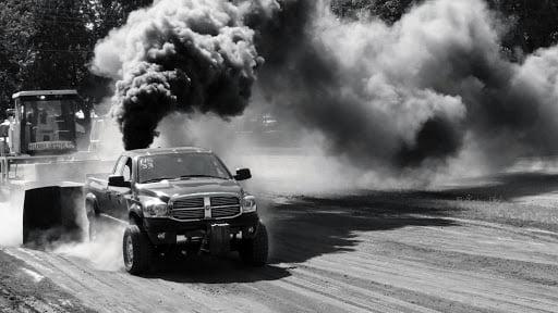 diesel-truck-burnout