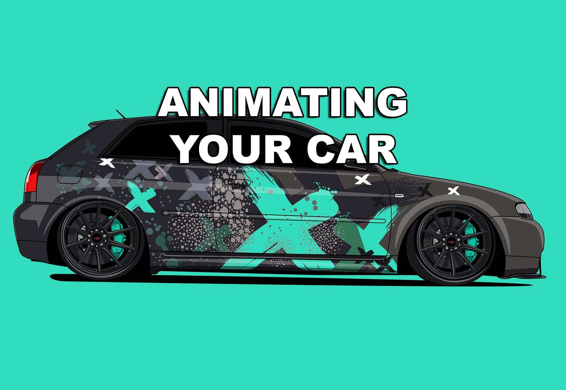 Cartoon of your car
