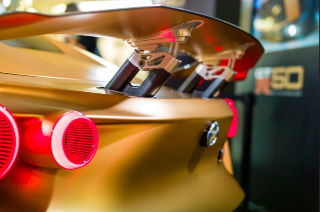 GT-R50 Spoiler