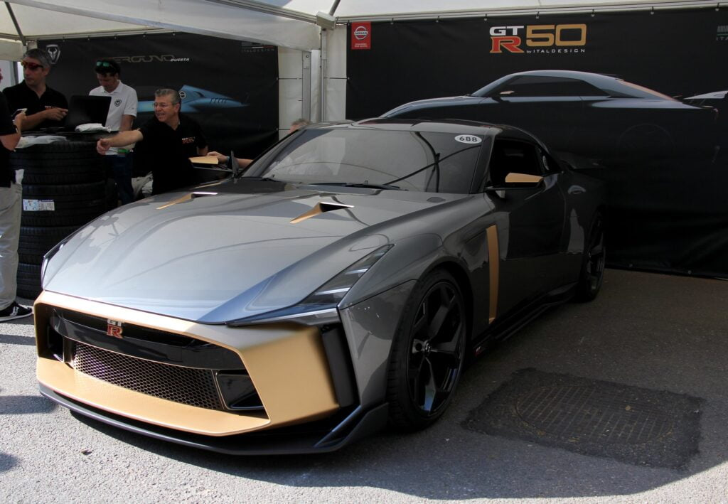 Nissan GT-R50 Track Reveal