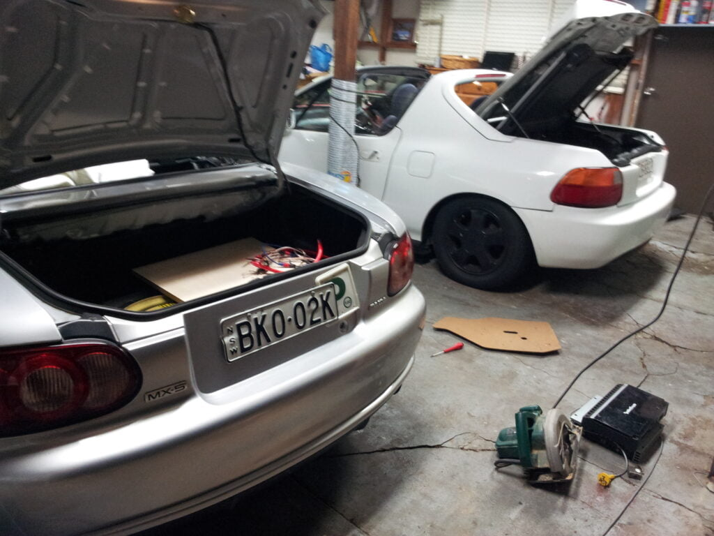 CRX and MX5 Sound System