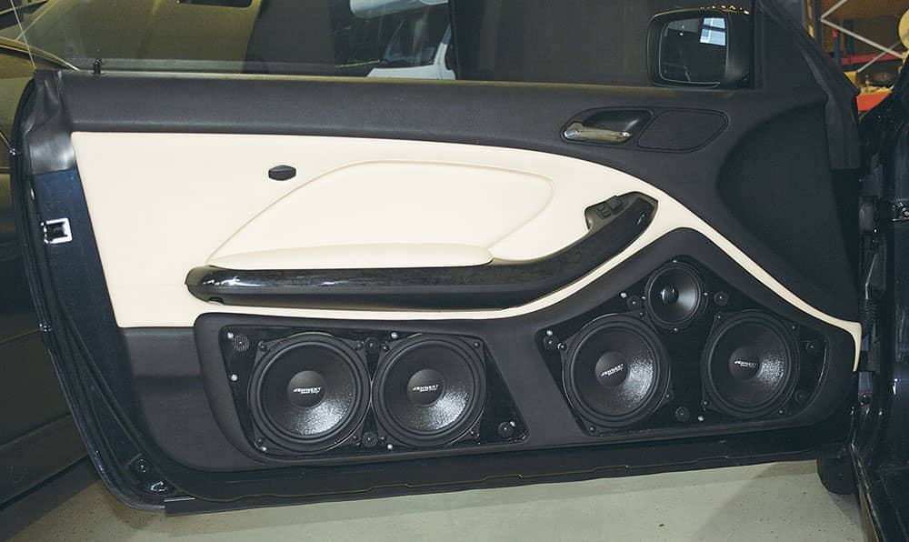 Convertible Car Sound System